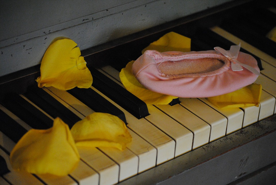 Slipper, Piano, Ballerina, Ballet, Ballet Dancer