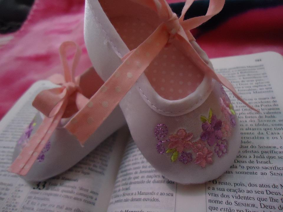 Slipper, Shoes, Ballet, Baby