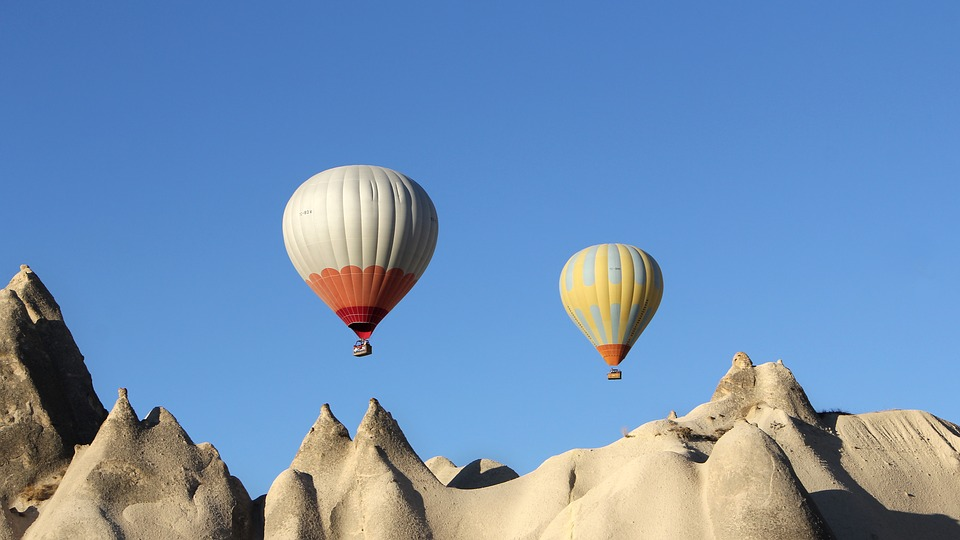 Cappadocia, Balloon, Ballooning, Turkey, Air, Adventure