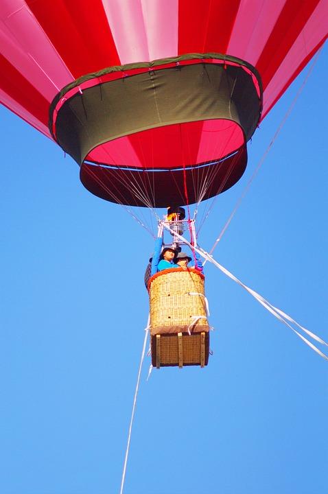 Balloon, Hot Air Balloon, Blue Sky