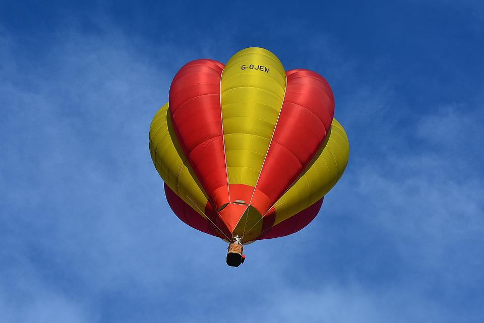 Hot Air Balloon, Balloon, Floating, Flying, Colour