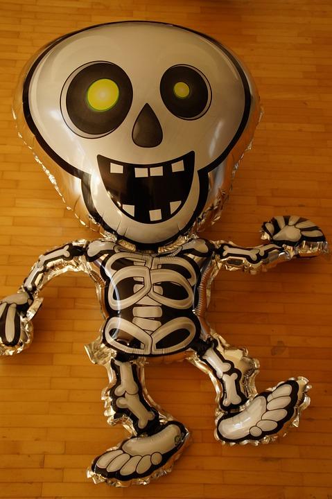Free Photo Balloon Funny Ghost Spooky Creepy Skeleton Max Pixel