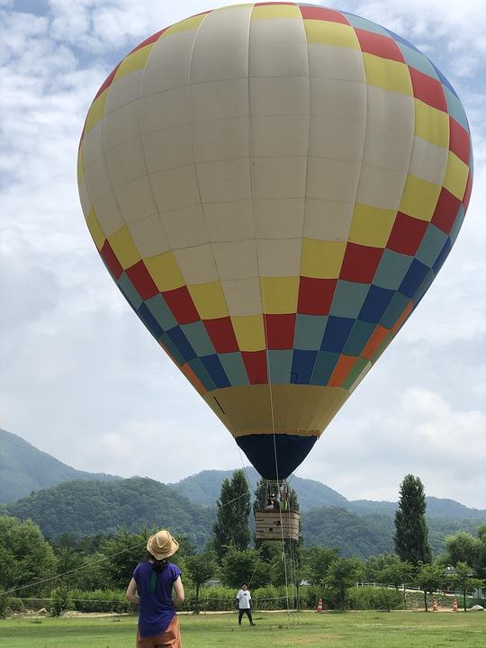 Balloon, Color, Girl, Jara-island, River-market