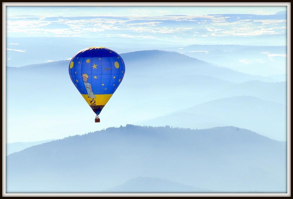 Hot Air Balloon, Ardèche Petit-prince, Balloon