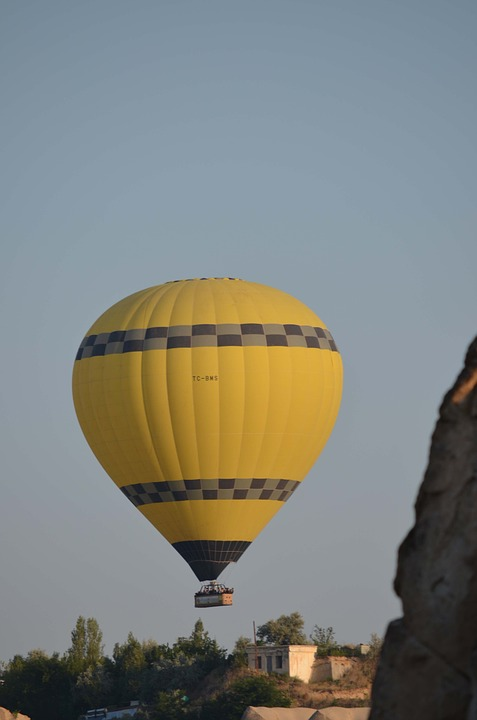 Balloon, Cappadocia, Hot Air Balloon