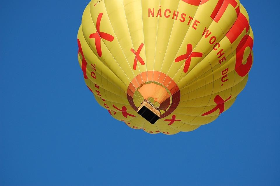 Hot Air Balloon, Float, Fly, High, Balloon, Sky