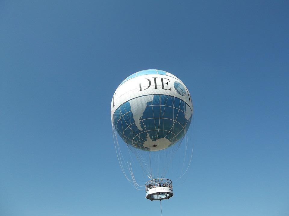 Balloon, Berlin, Vista Balloon, Hot Air Balloon Ride