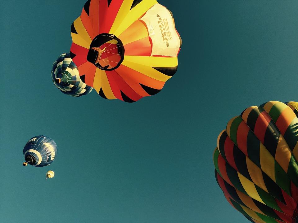 Aerostatic, Balloon, Mexico, Sky