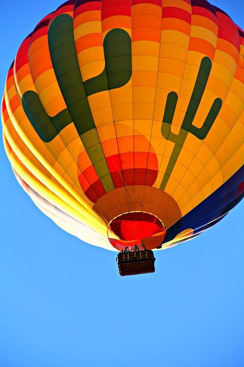 Hot Air Balloon, Balloon, Air, Sky, Colorful, Fly