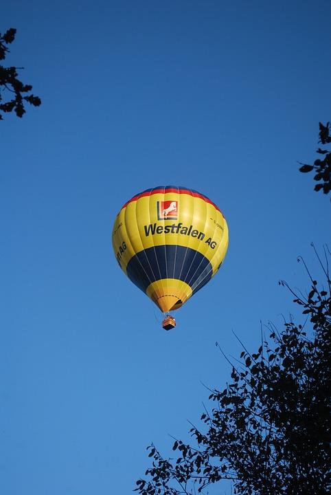 Balloon, Sky, Flying, The Aeronautics