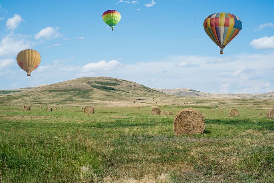 Hot Air Balloons, Flying, Balloon, Freedom, Travel, Sky