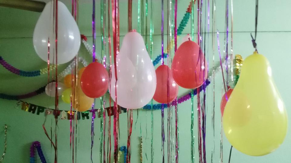 Balloons, Celebration, Party, Birthday, Party Balloons