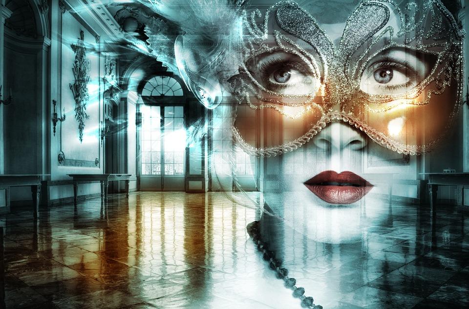 Hall, Ball, Woman, Ballroom, Museum, Building