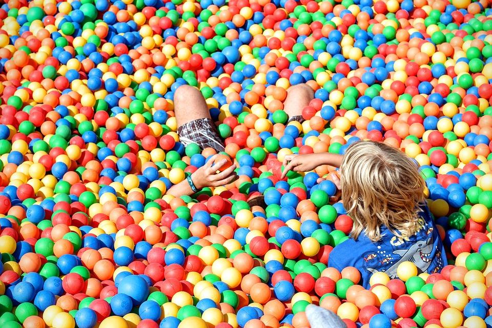 Ball Pit, Play, Balls, Plastic Balls, Colorful, Plastic