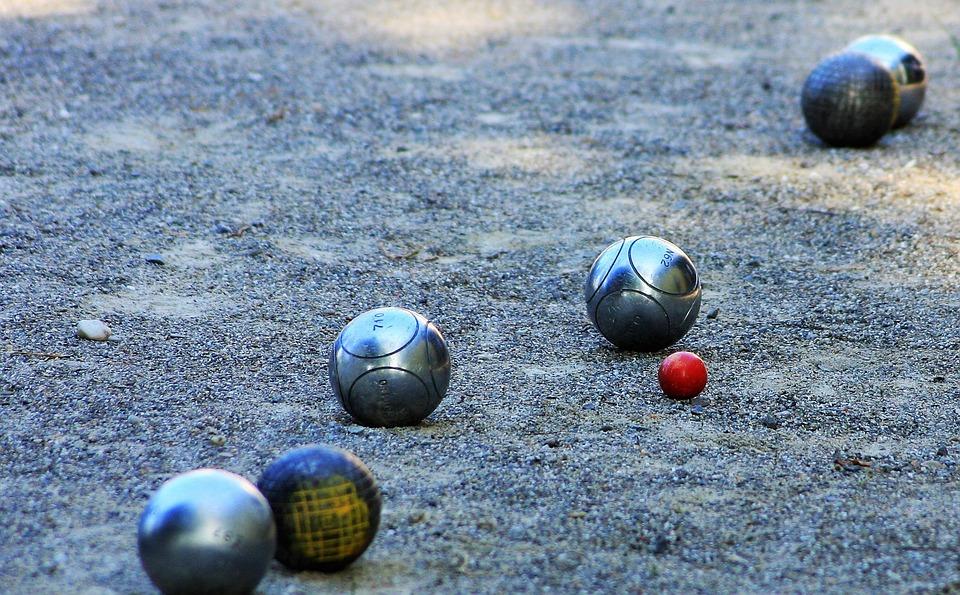 Boule, France, Balls, Gravel Space, Boule Balls