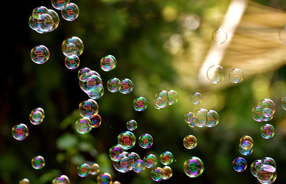 Soap Bubbles, Float, Make Soap Bubbles, Balls, Slightly