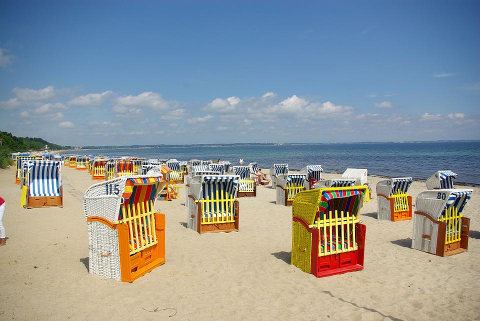 Clubs, Baltic Sea, Sea, Baltic Sea Beach, Coast, Wave