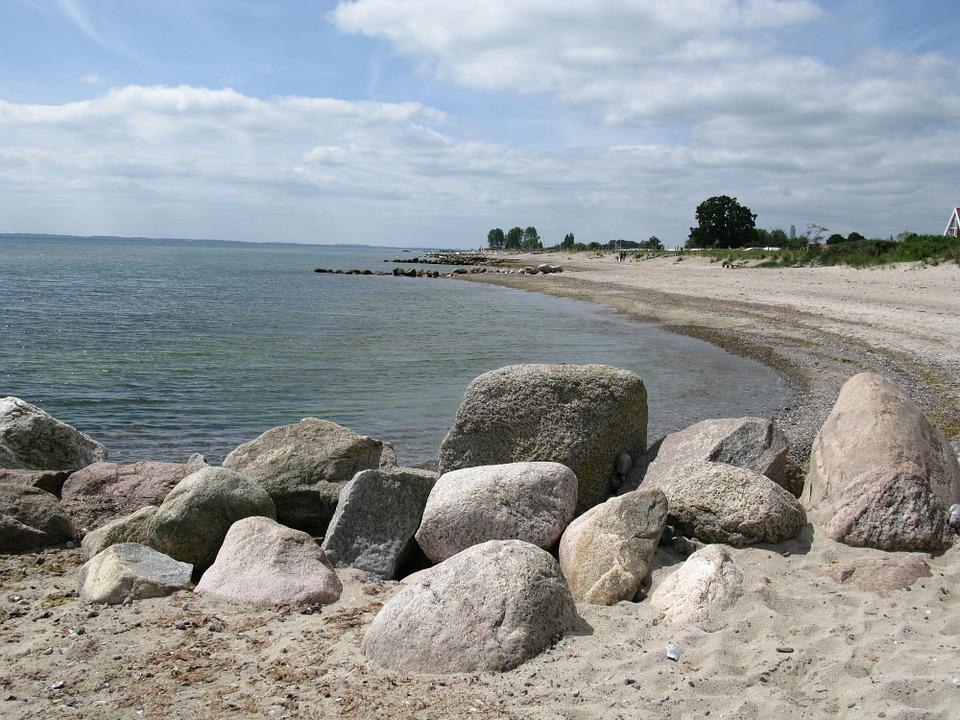 Baltic Sea, Sea, Baltic Sea Beach, Coast, Beach, Bank