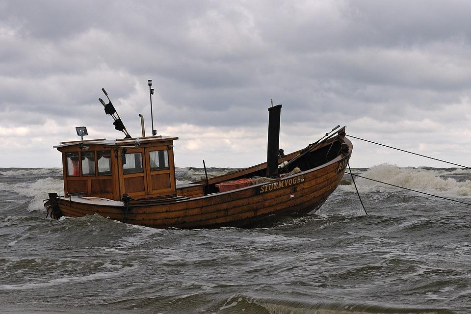 Boot, Baltic Sea, Coast, Beach, Ship, Sea, Usedom