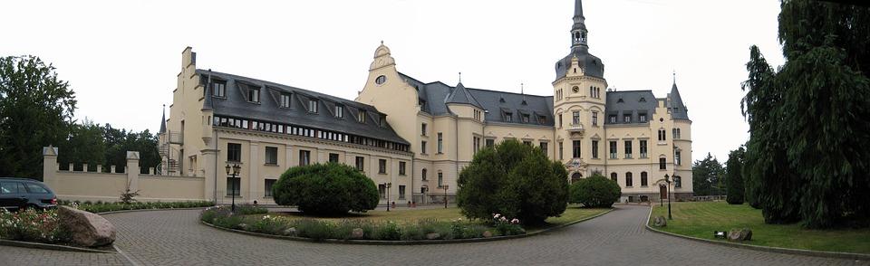 Rügen Island, Castle Hotel, Ralswiek, Baltic Sea