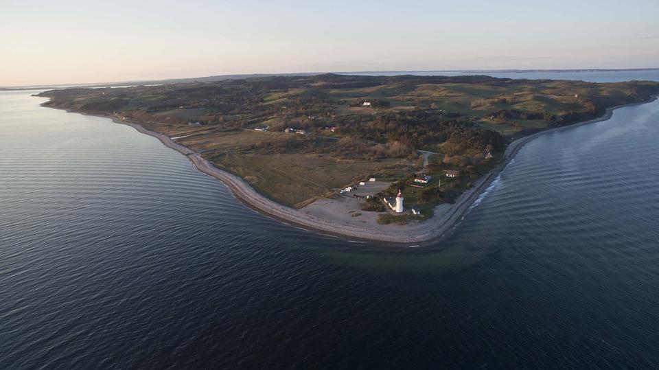 Coast, Paragliding, Baltic Sea, Air Sports, Fly