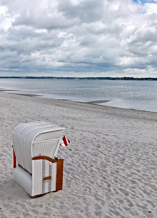 Baltic Sea, Beach Chair, Fine Sand Beach