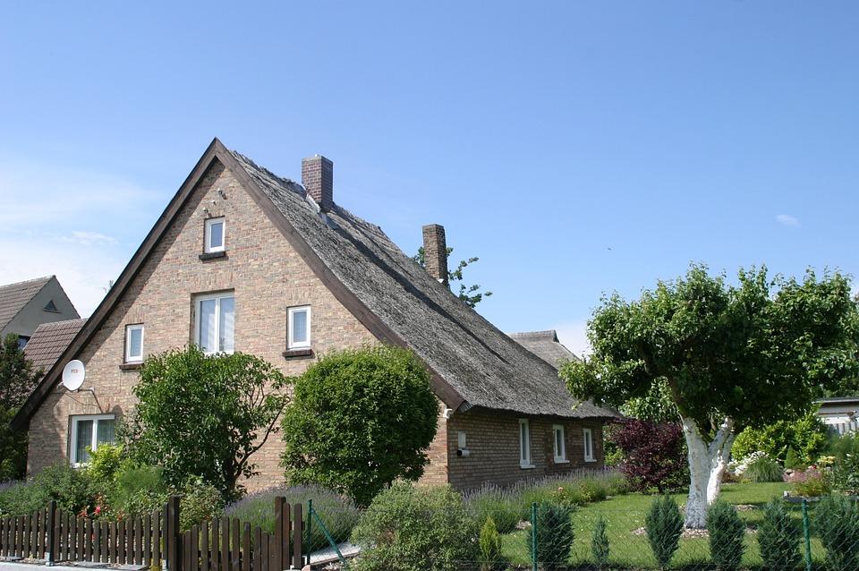 Rügen Island, Island, Home, Thatched Roof, Baltic Sea