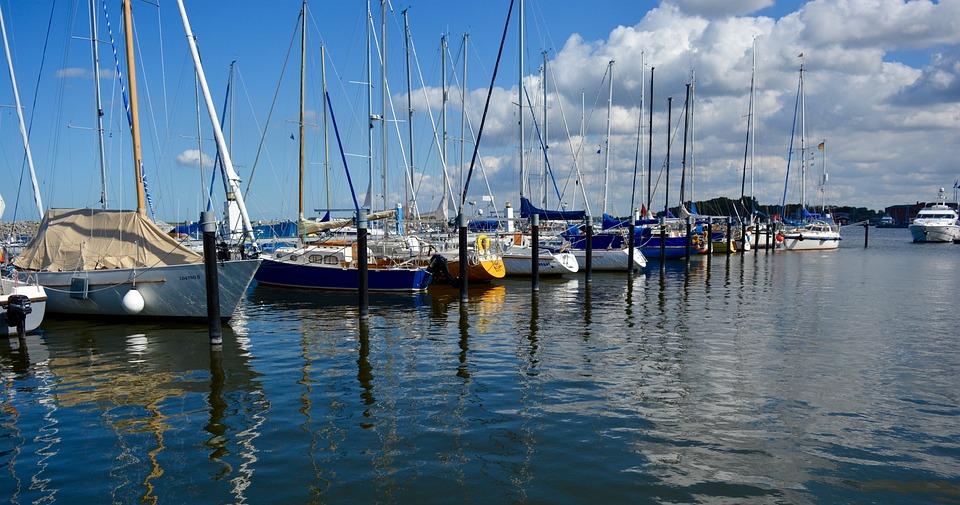 Yacht, Sailing Boats, Port, Baltic Sea, Ship