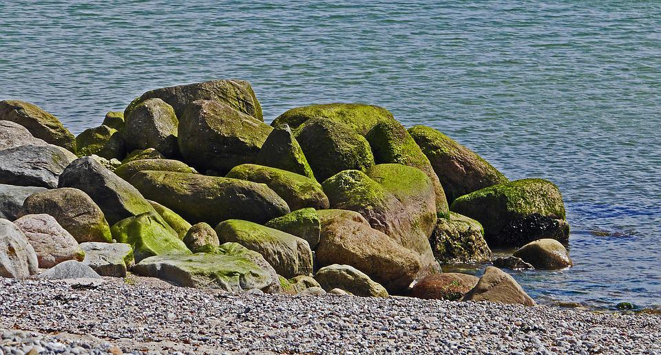 Baltic Sea, Pebble Beach, Coast Guard, Rock, Boulders