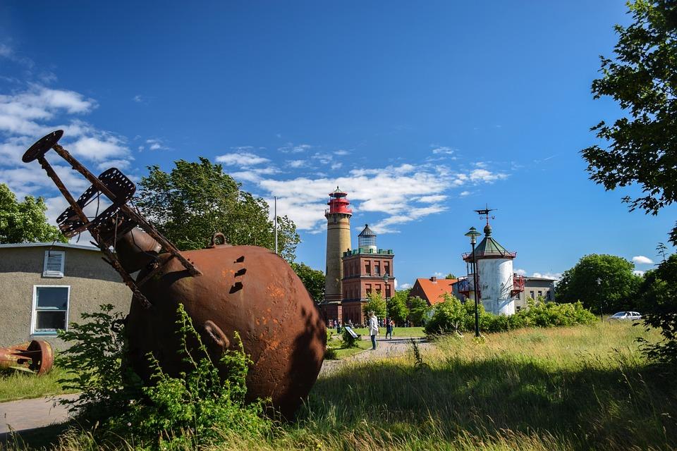 Architecture, Sky, Summer, Cape Arkona, Baltic Sea
