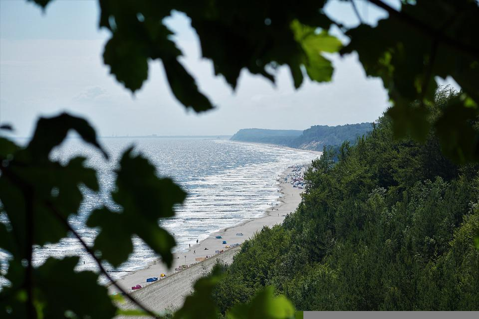 Beach, Baltic Sea, Usedom, Coast, Outlook