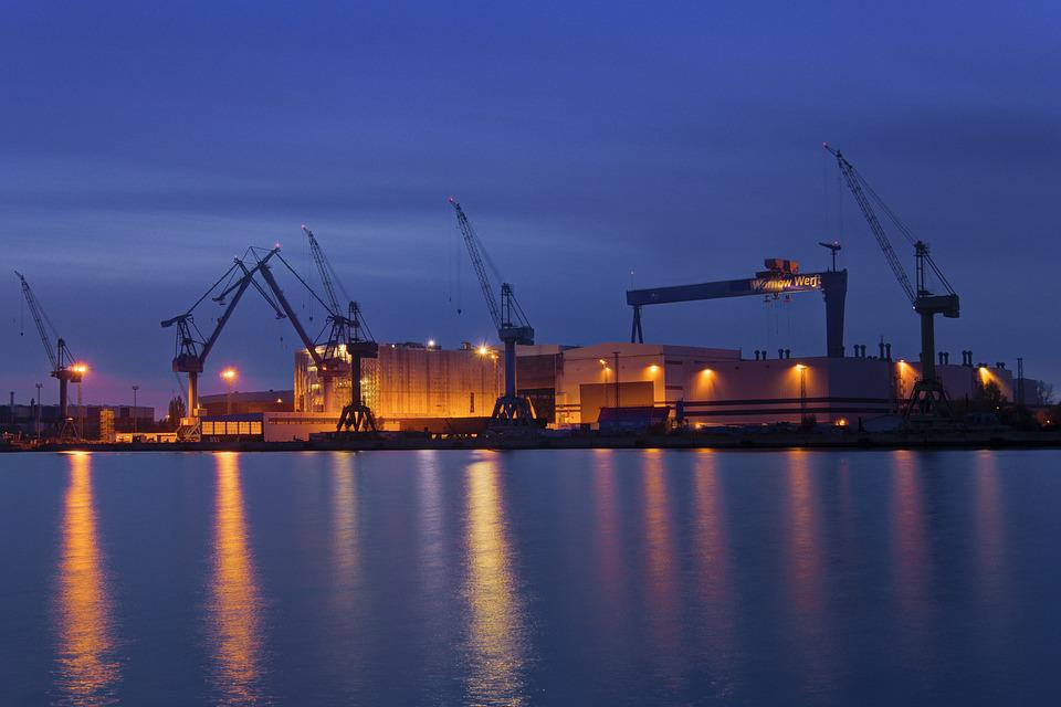 Shipyard, Yard View, Baltic Sea, Ship, Maritime, Cruise