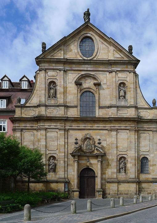 Karmelitenkloster, Bamberg, Facade, Baroque, Building