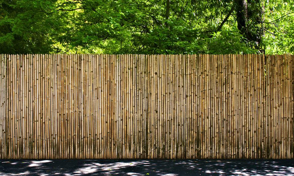Free photo Bamboo Garden Fence Woods Security Outdoors Max Pixel