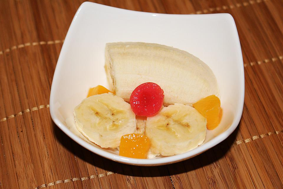 Dessert, Fruit, Fruits, Banana, Fruit Bowl
