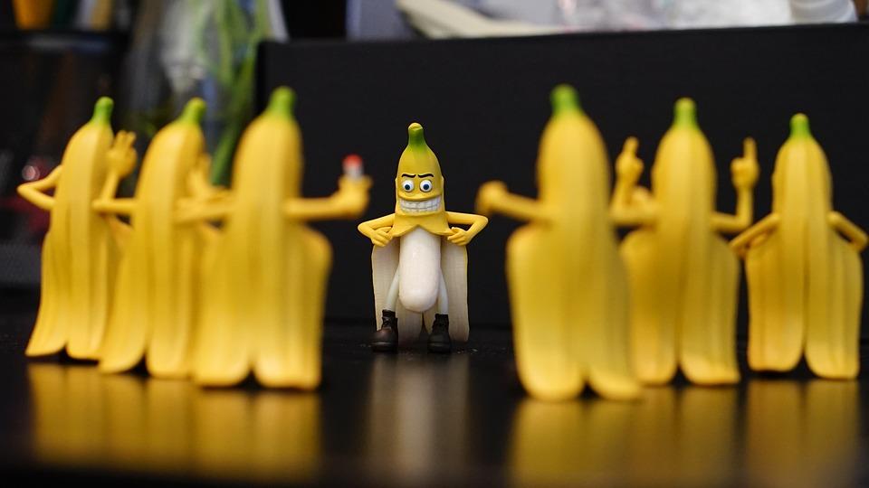 Banana, Funny, Toys, Humor, Gifts