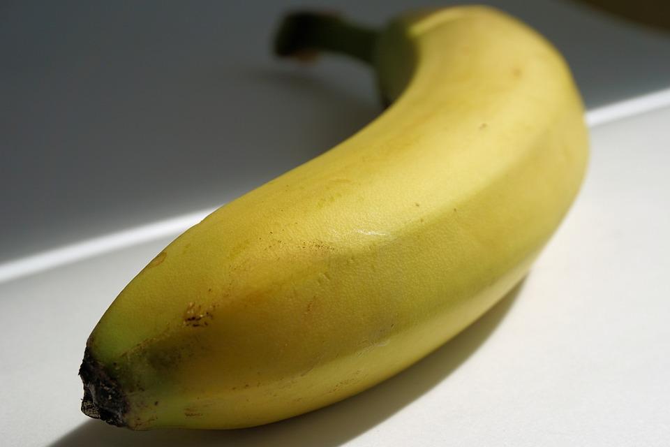 Banana, Fruit, Healthy, Yellow, Banana Peel, Tropical