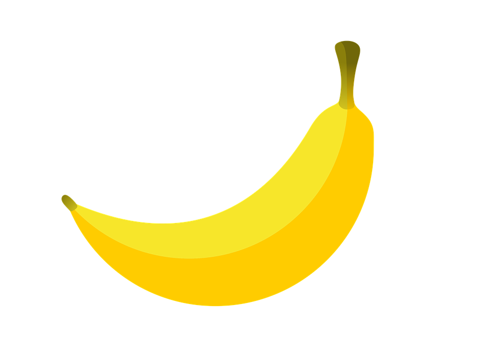 Bananas, Food, Fruit, Yellow, Sweet, Ripe Banana