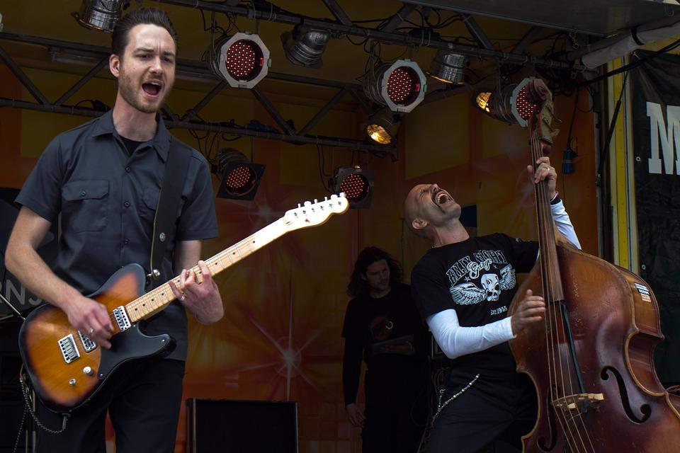 Music, Band, Mannheim, Town Festival, Concert