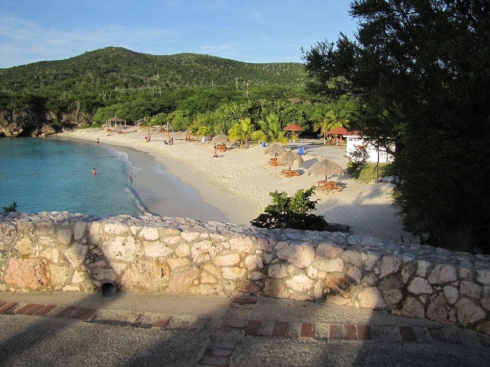 Curacao, Knip Bay, Banda Abao