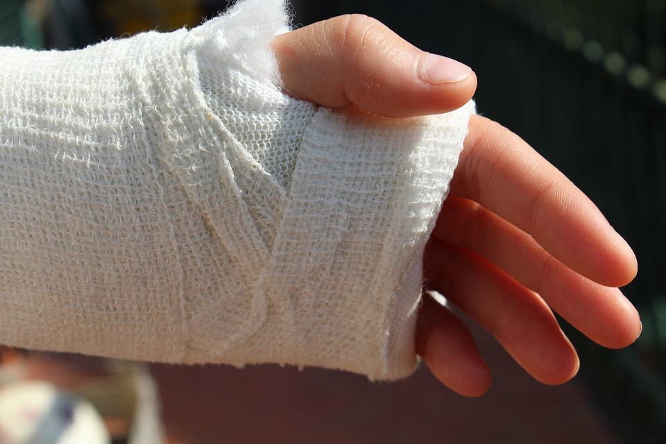 Free Photo Bandage Orthopedics Broken Hand Chalk Hospital Max Pixel