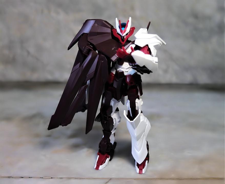 Robot, Toy, Action, Figure, Model, Kit, Bandai, Scale