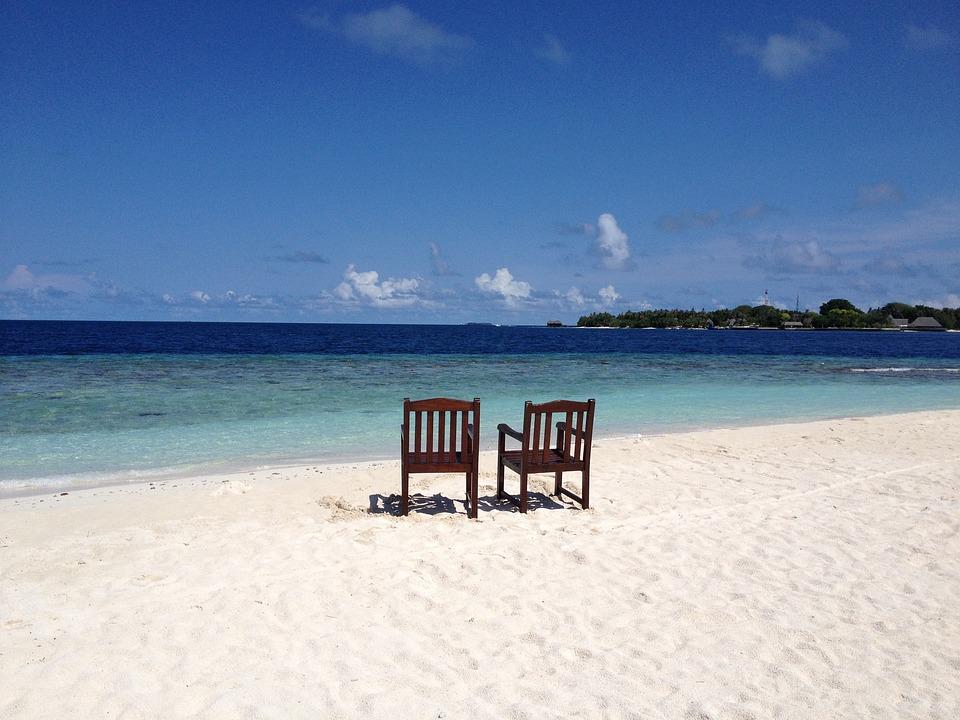 Maldives, Beach, Bandos Island, Resort, Island, Sea