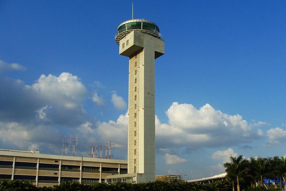 Atc Tower, Airport, Bangalore, India, Control, Traffic