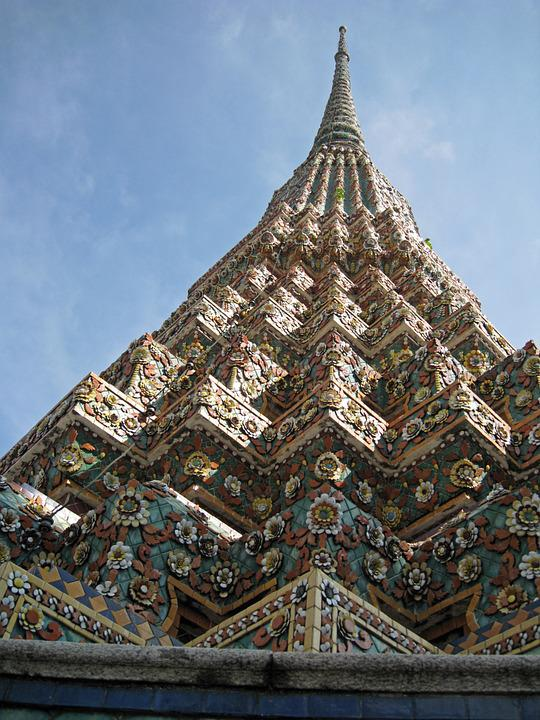 Bangkok, Temple, Thailand, Travel, Architecture