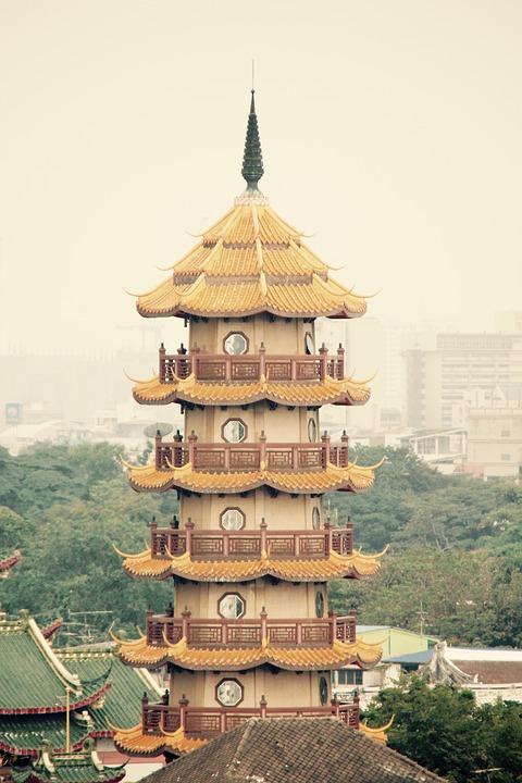 Temple, Thailand, Buddhism, Bangkok, Tower, Asia