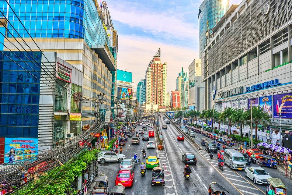 Transport, Urban, Road, City, Bangkok, Traffic