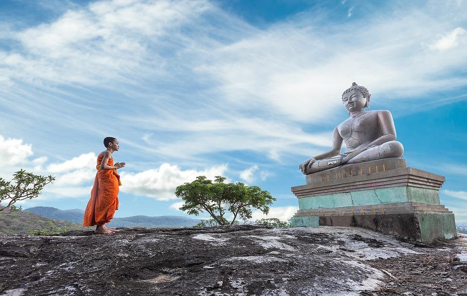 Buddhism, Worship, Monk, Ancient, Buddha, Asia, Bangkok