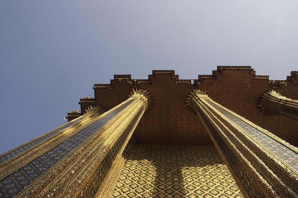 Bangkok, Thai, Thailand, Temple, Architecture, Palace