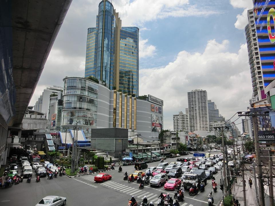 Bangkok, Thailand, Skyscraper